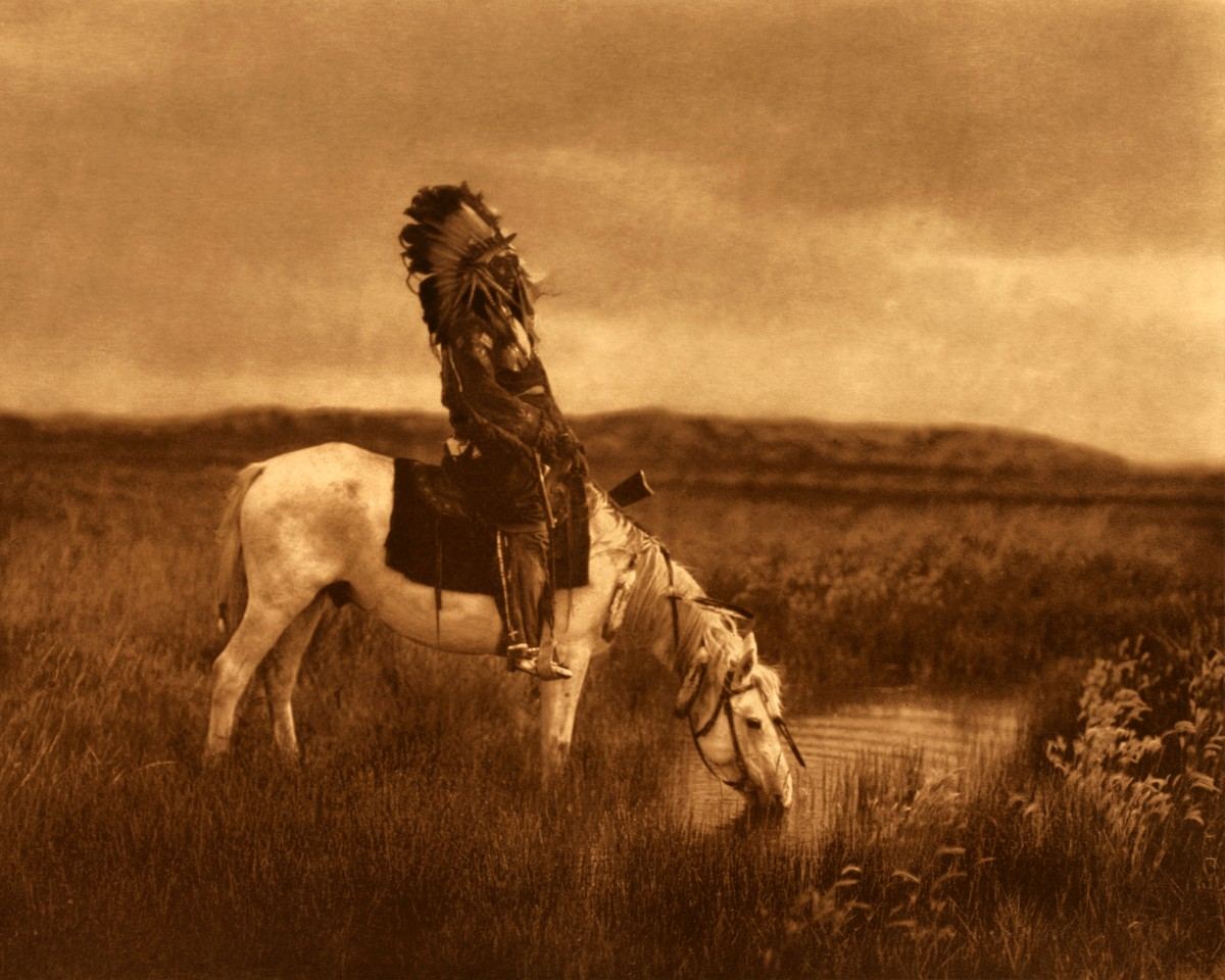 Edward Curtis An Oasis in the Badlands Giclee Fine Art Print Open Edition Repro